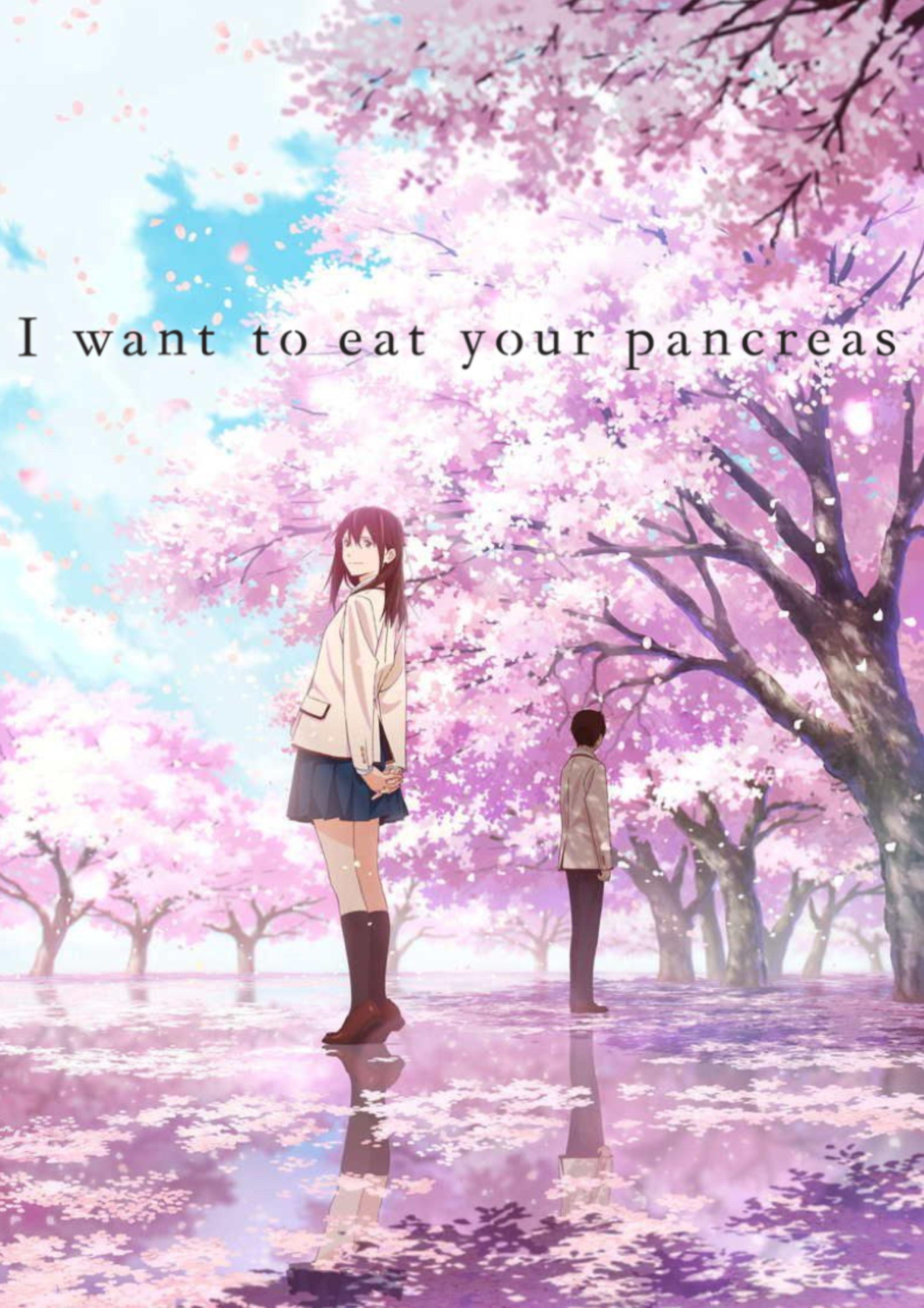 Risultati immagini per let me eat your pancreas anime movie