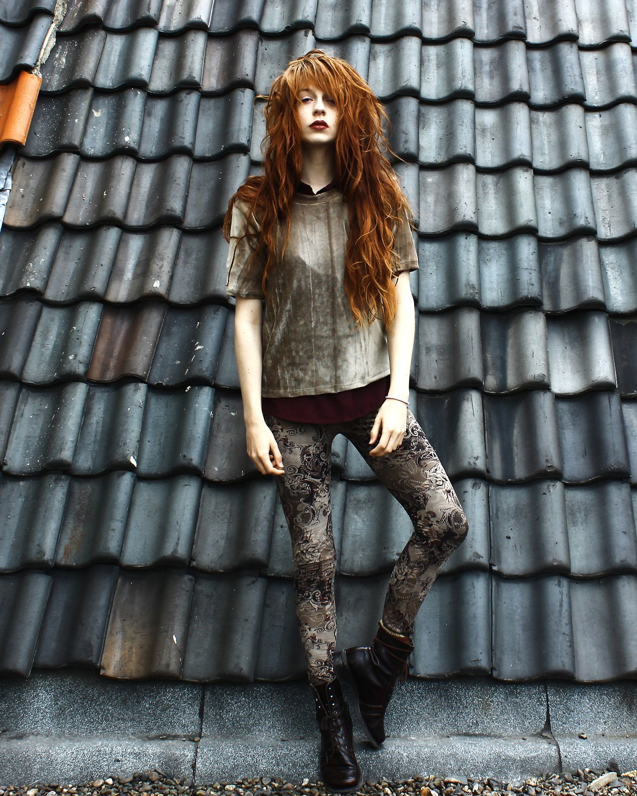 beautiful hair grunge ginger skinny grunge hair