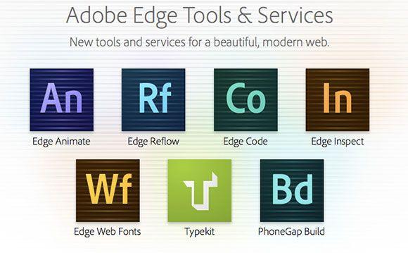 Adobe S New Edge App Suite Doubles Down On Html Adobe Creative Cloud Web Design Web Font