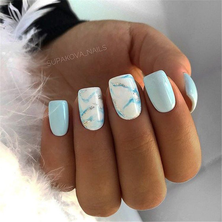 Lady Pflege Short Acrylic Nails Designs Square Acrylic Nails Fancy Nails