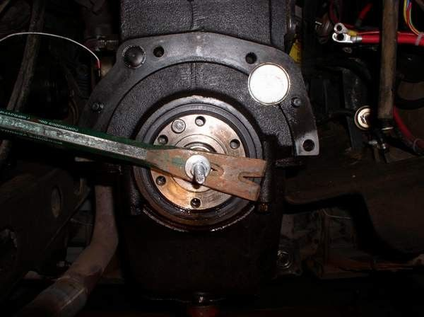 homemade wheel bearing puller. pilot bearing removal tool by rocky_lc -- homemade adapted from a wheel puller l