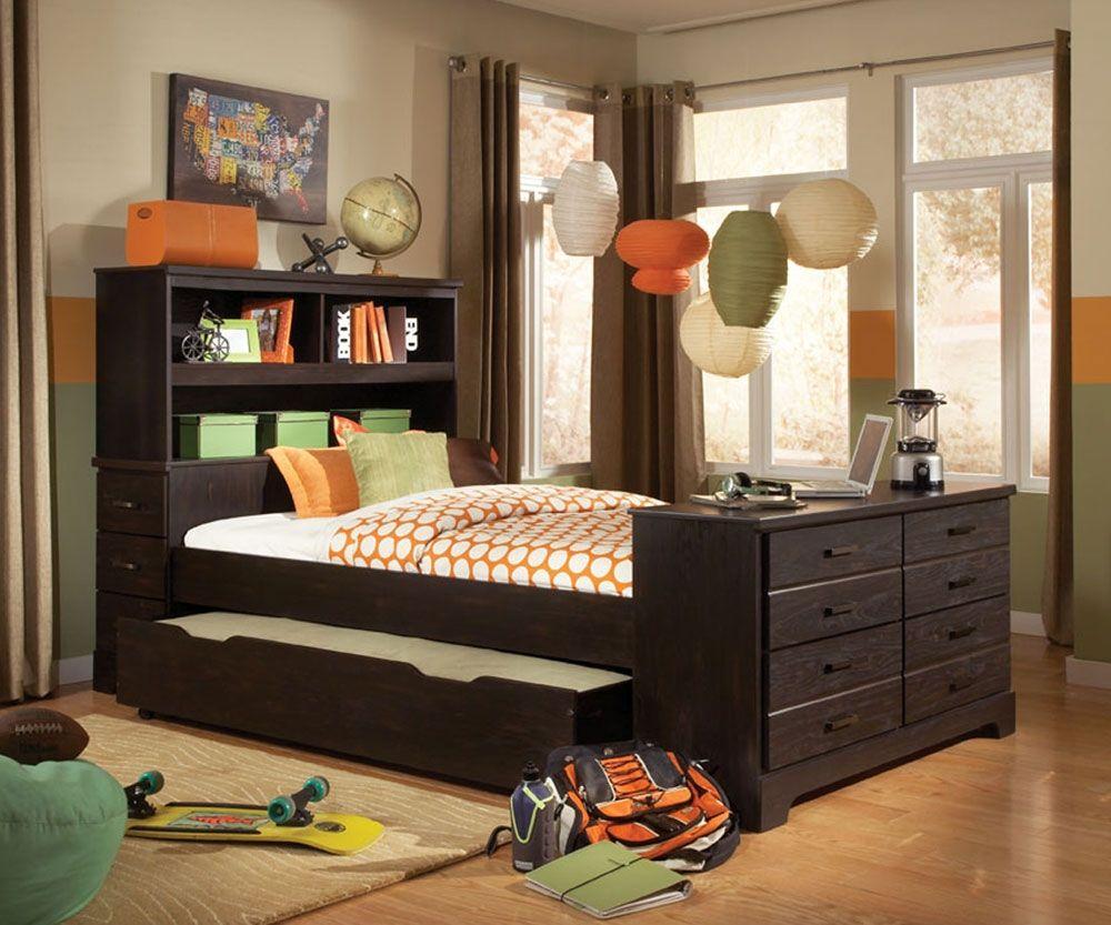Voller Größe Bett Mit Ausziehbarem (mit Bildern) Bett