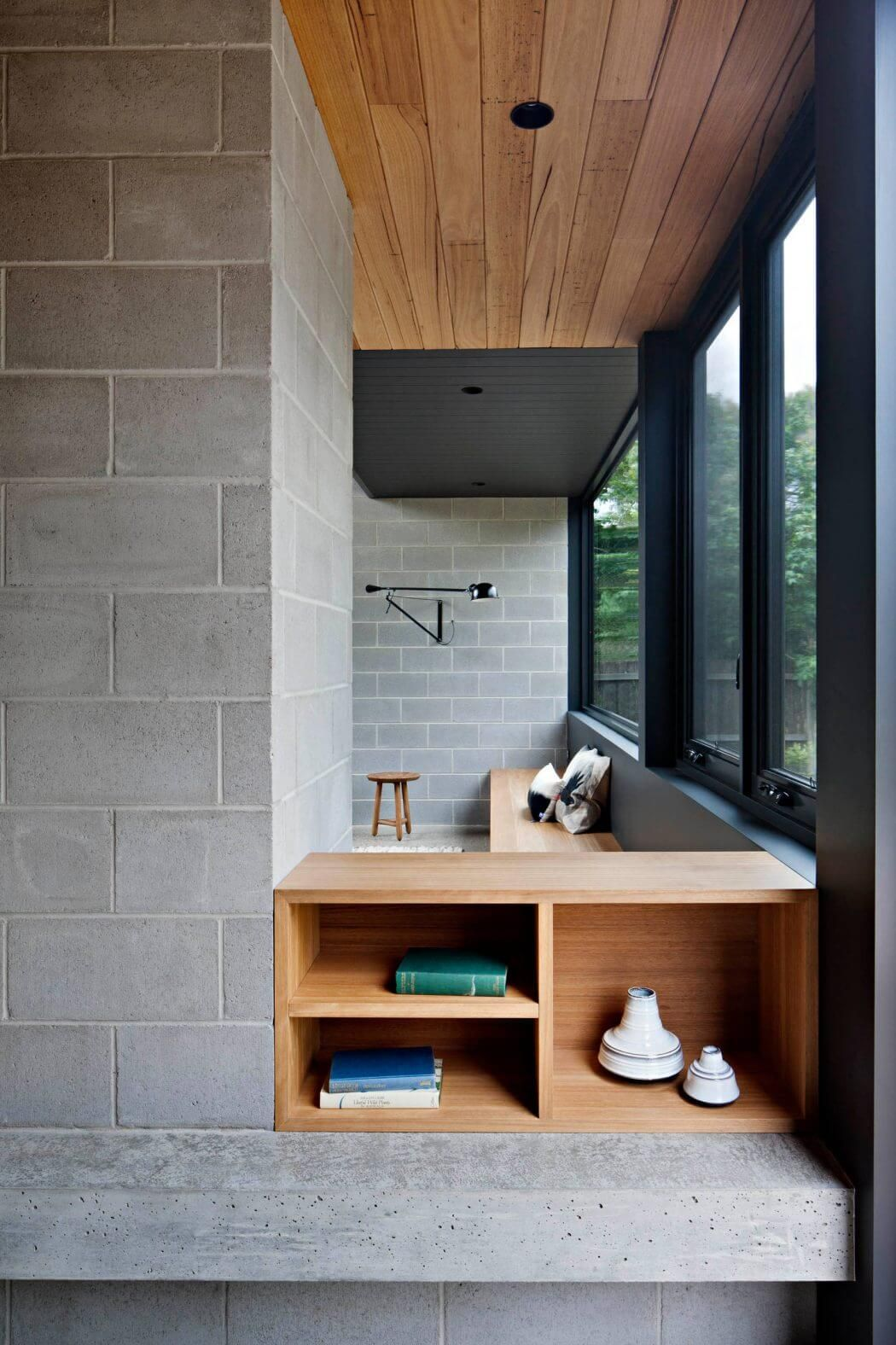 Cinder Blocks Poured And Paneled Concrete Might Be The More Obvious  Choices, But Everyday Cinder