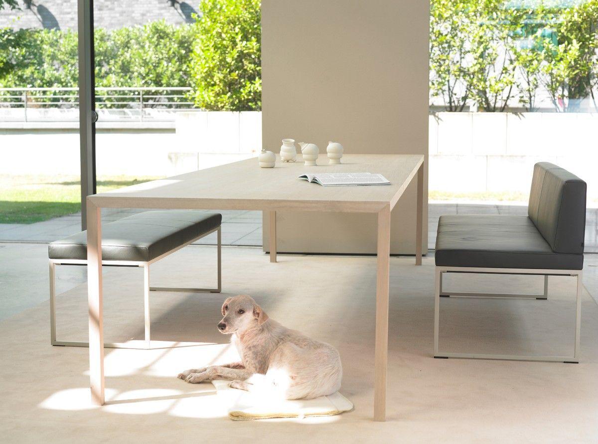 Arco slim tafel fineer dinning table kitchen
