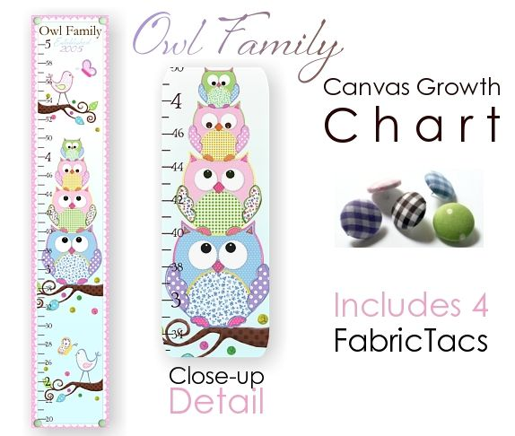 Owl Growth Chart Stuff For Paige Pinterest Growth Charts And