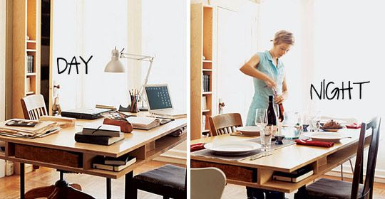 dining room to office. Interesting Room Pocket  Rethink Your Home Office 6 Alternatives To A Traditional Desk  Table With Storage And Dining Room To Office