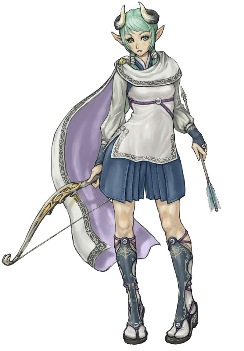 White Knight Chronicles 2 - Miu Character kunst, kvinde-4248