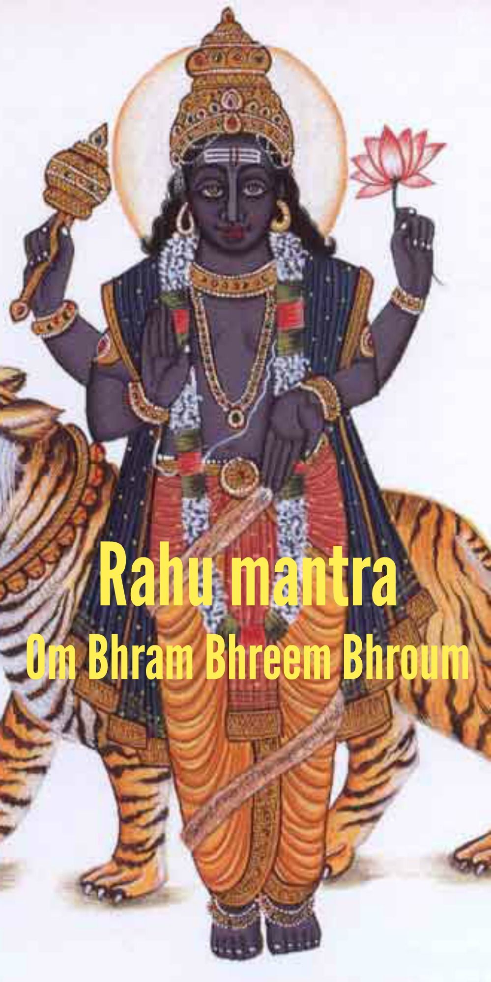 Rahu mantra - Om Bhram Bhreem Bhroum: Lyrics, Meaning and Benefits