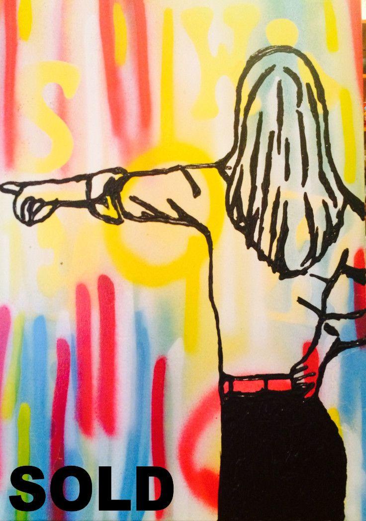 Eddy Avenue - SOLD by McDonald | PLATFORMstore. Painting on board