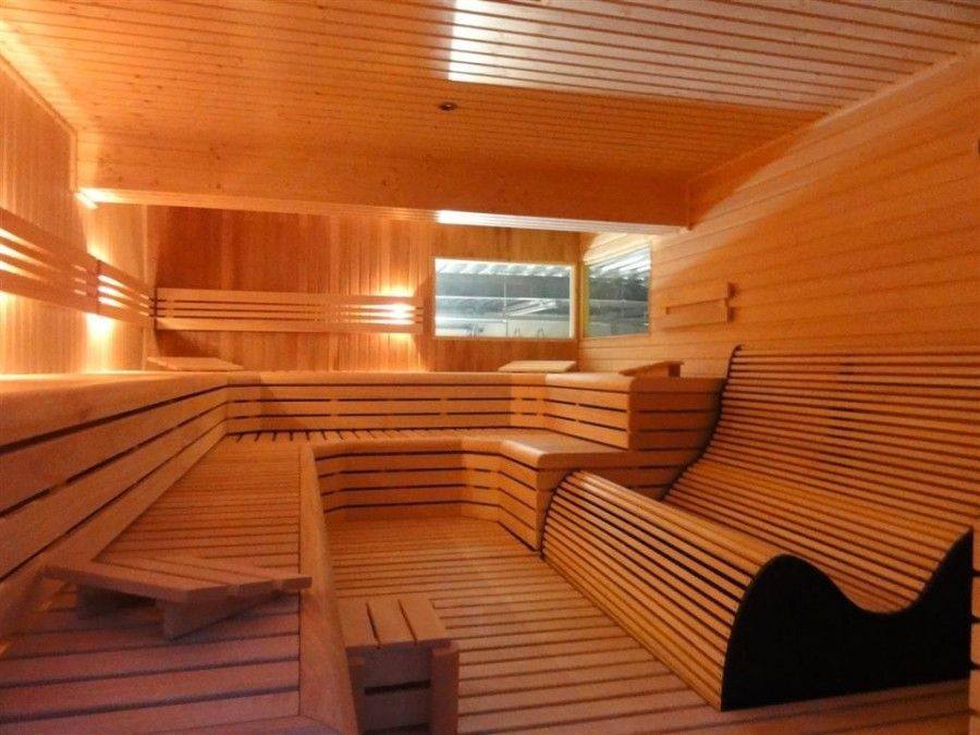 modern sauna bench projecten om te proberen pinterest. Black Bedroom Furniture Sets. Home Design Ideas