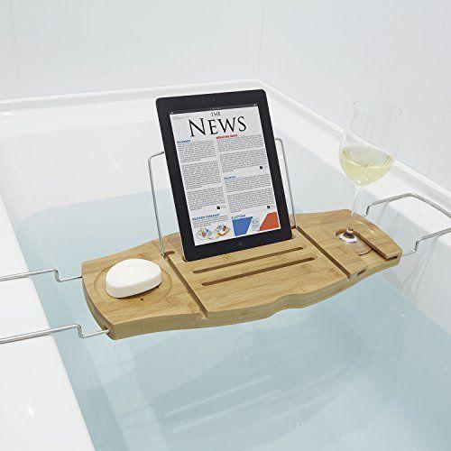 Umbra Aquala Bamboo Bathtub Caddy Natural - Best Bathtub 2017