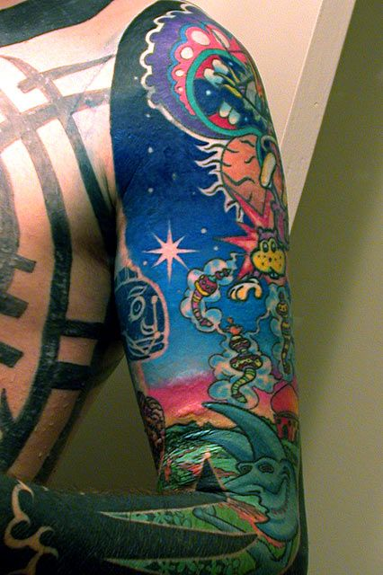 Nice shading for the sky land sea sky pinterest for Shading background tattoo