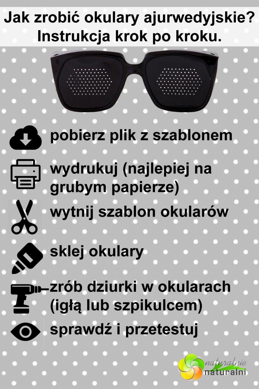 Okulary Ajurwedyjskie Jak Zrobic Samemu Za Darmo In 2020 Health