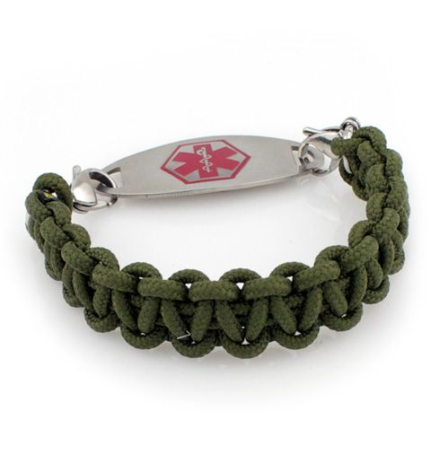 Tuff Paracord Medical Alert Bracelet