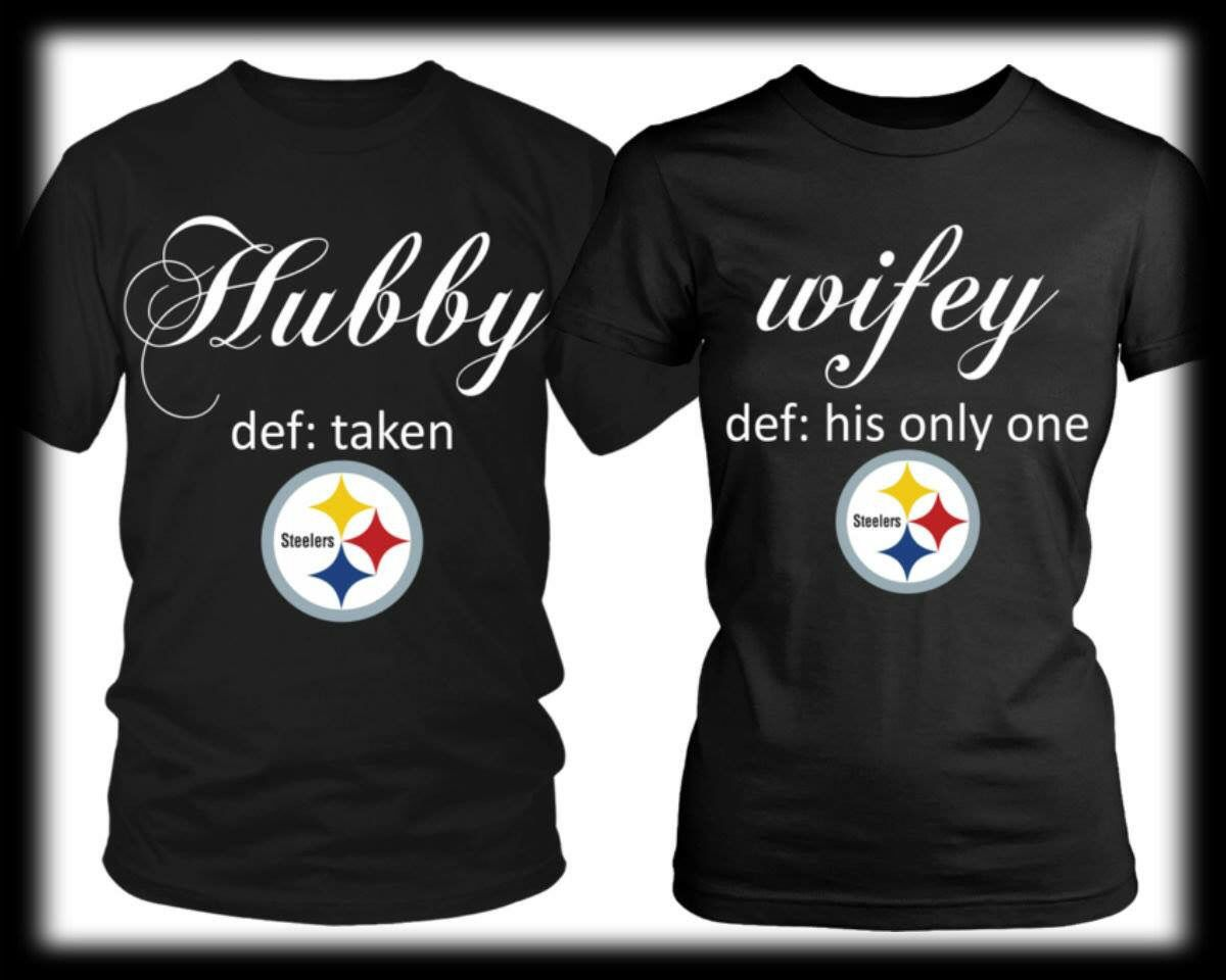 917c3a30f Steeler Couples Shirts Couple Tshirts