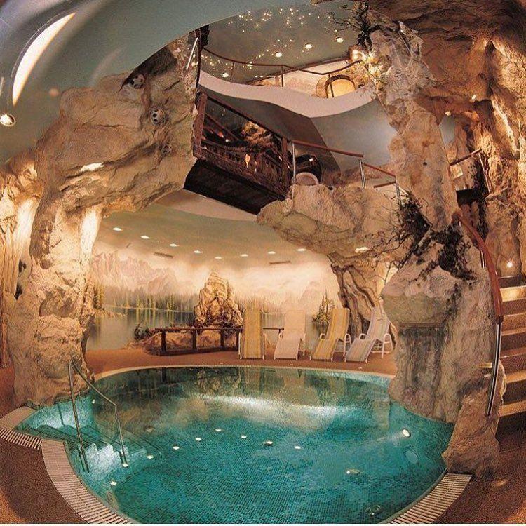 Indoor Cave Pool