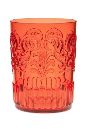 En tonos anaranjados y con relieve   Home things   Pinterest   Vasos ...