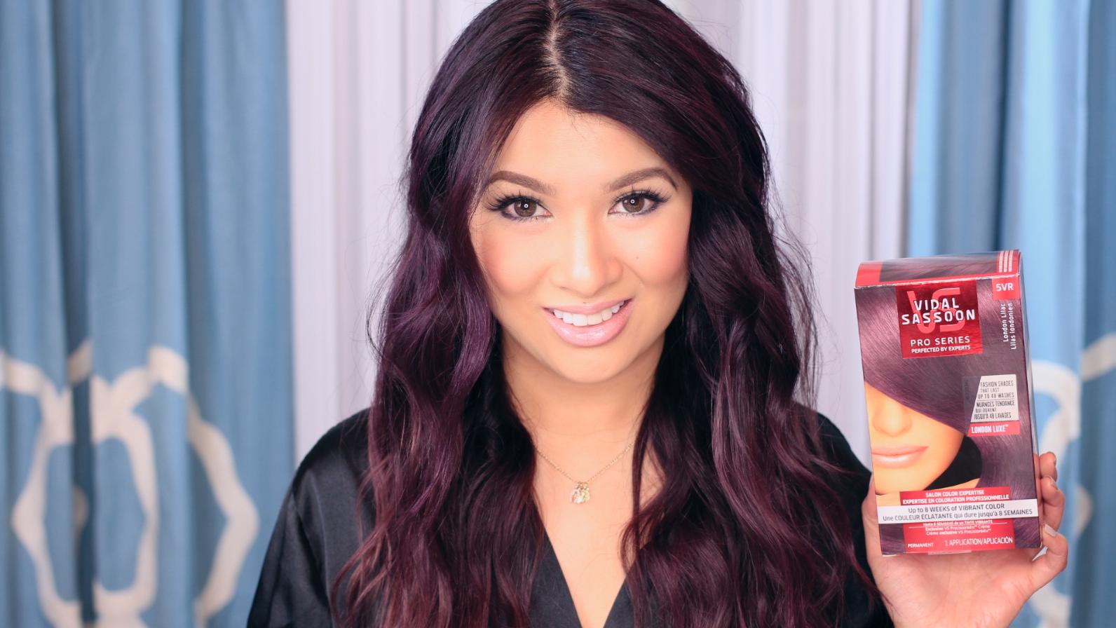 Lilac Hair Color Vidal Sassoon London