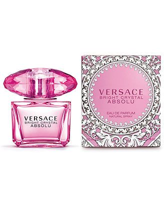 Versace Bright Crystal Absolu Eau de Parfum Spray, 3 oz