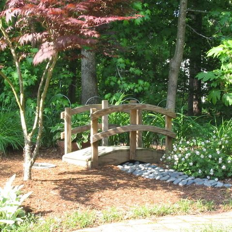 japanese garden bridge asian landscape other metro harmony design northwest - Japanese Garden Bridge Design