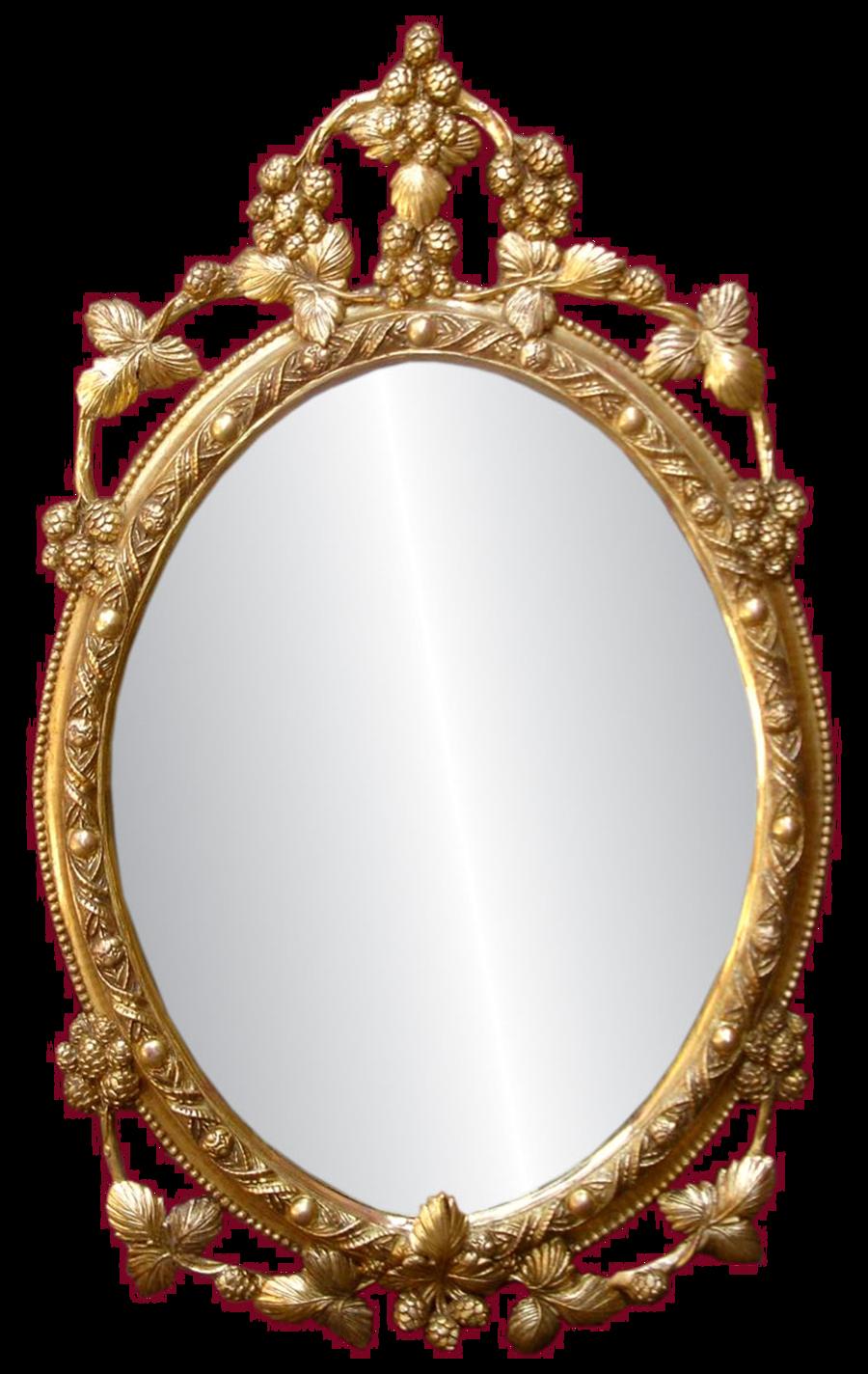 Mirror Png By Doloresmd Deviantart Com On Deviantart Mirrored Picture Frames Circle Frames Gold Frame