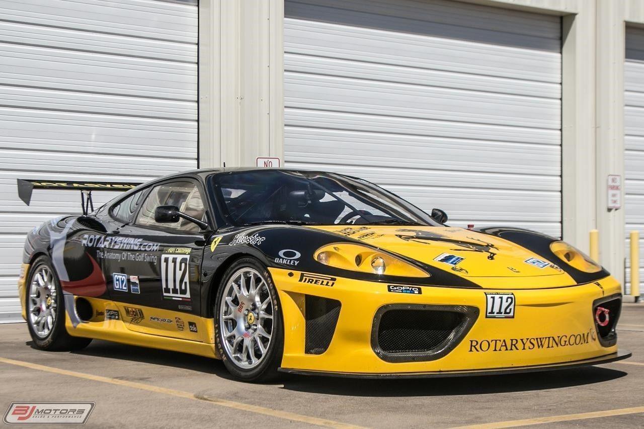 2001 Ferrari 360 Challenge Race Car Ferrari 360 Ferrari Race Cars