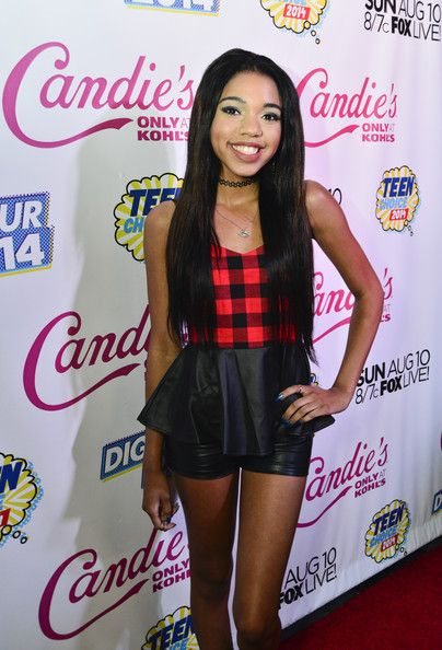 Teala Dunn Photos - Actress Teala Dunn attends Candie's Presents The Official Pre-Party For Teen Choice 2014, A DigiTour Production at The Gibson Showroom on August 9, 2014 in Los Angeles, California. - Teen Choice Pre-Party