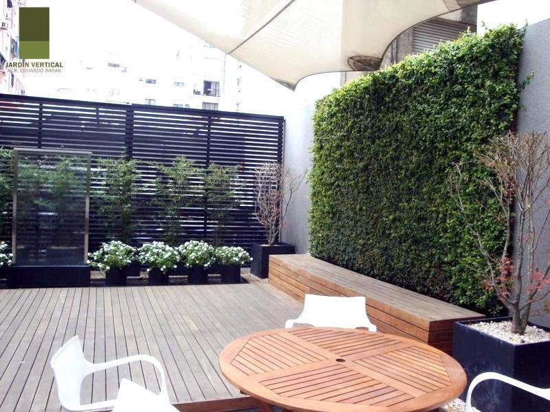 Jardin vertical galeria jardin jardines verticales for Jardineria al aire libre casa pendiente