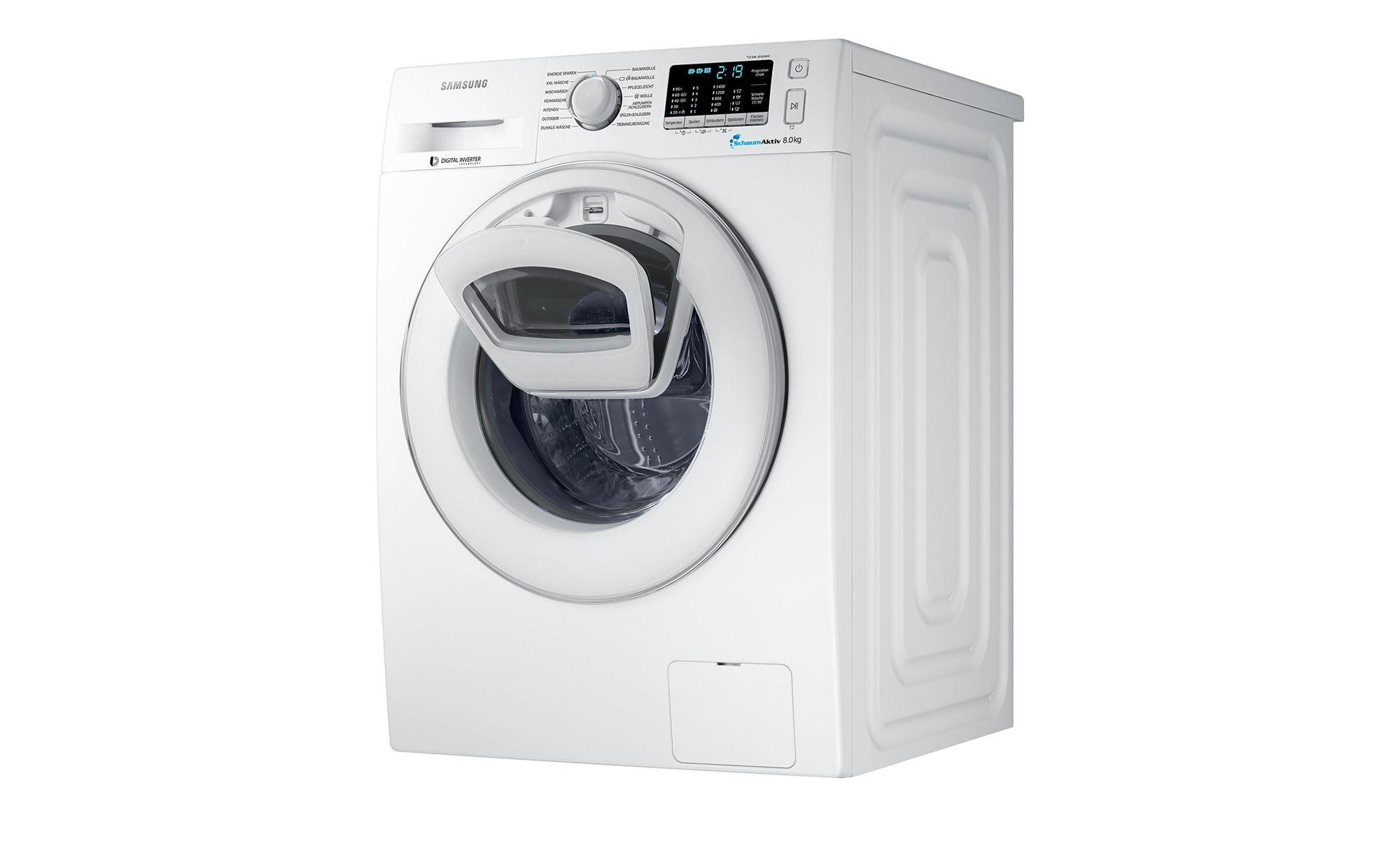 Samsung Waschvollautomat WW80k5400WW/EG, gefunden bei