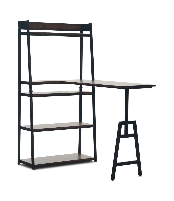 Pembroke Open Shelf With Peninsula | HOM Furniture | Furniture Stores In Minneapolis  Minnesota U0026 Midwest