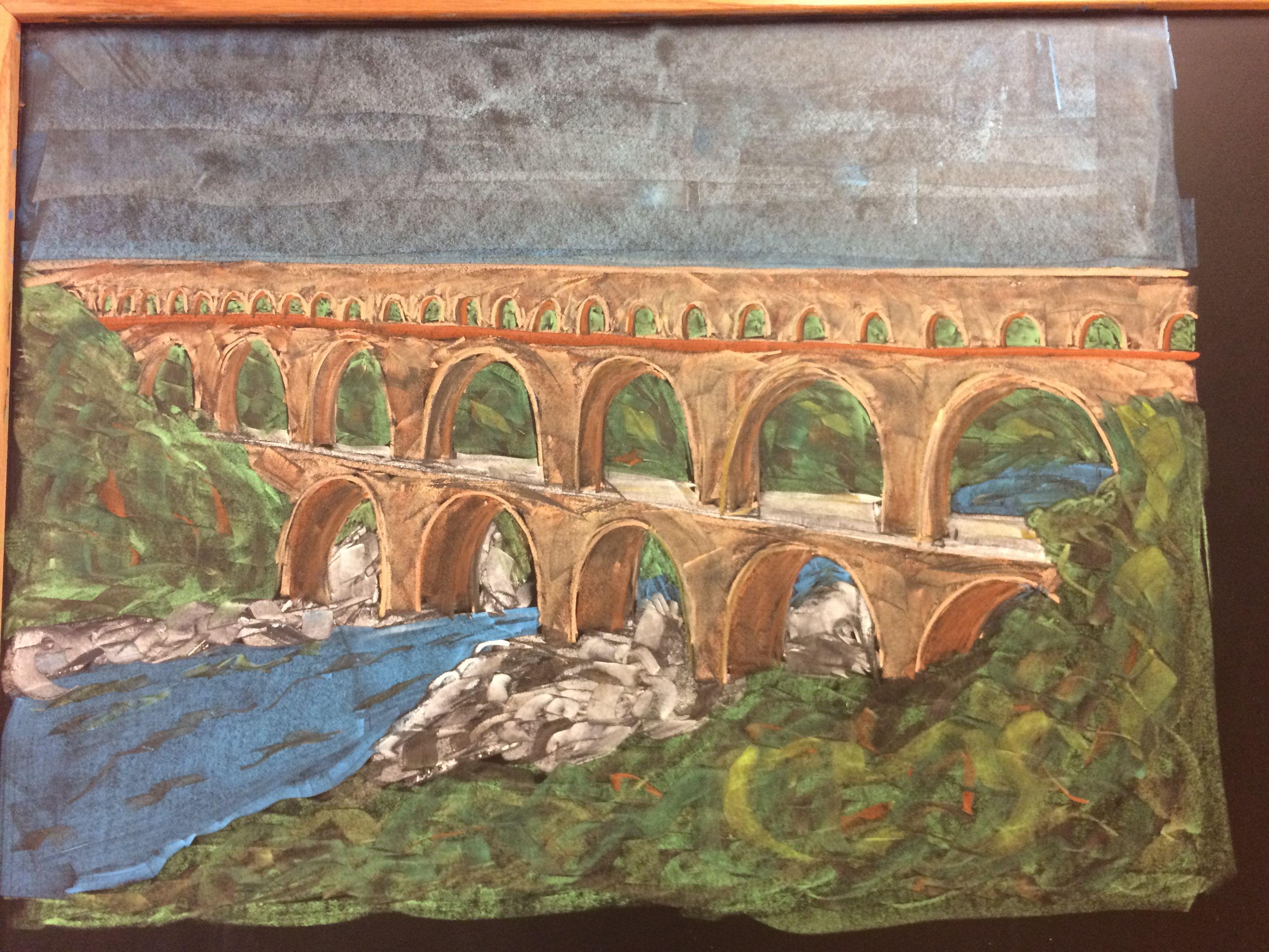 Ancient Roman Aqueduct | 6th grade Waldorf | Pinterest ...