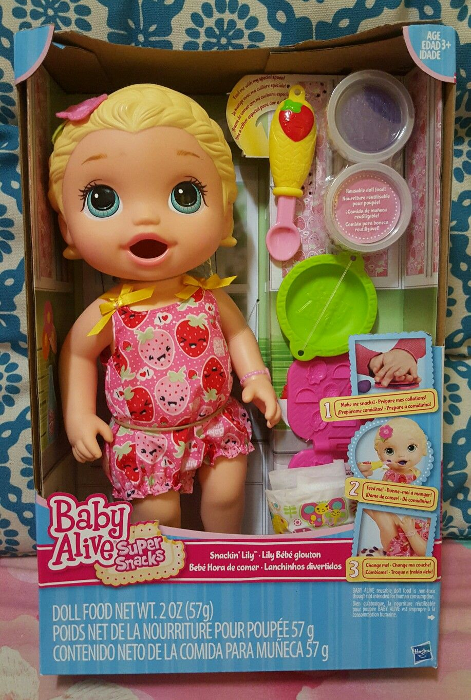 Baby Alive Snackin Lily Baby Alive Toddler Girl Toys Baby Alive Dolls