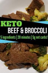 Keto Beef & Broccoli in 20 minutes  Keto Beef And Broccoli #health #fitness #nut...-- Keto Beef & Br...