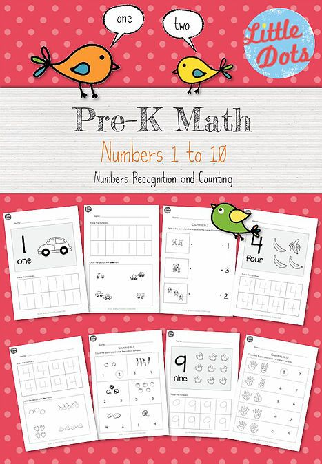 Numbers and Counting one to one correspondence worksheets and ...