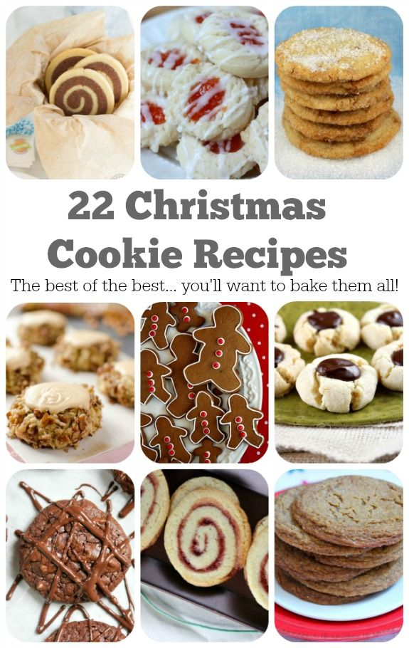 22 Christmas Cookie Recipes To Bake This Year Dessert Cookies