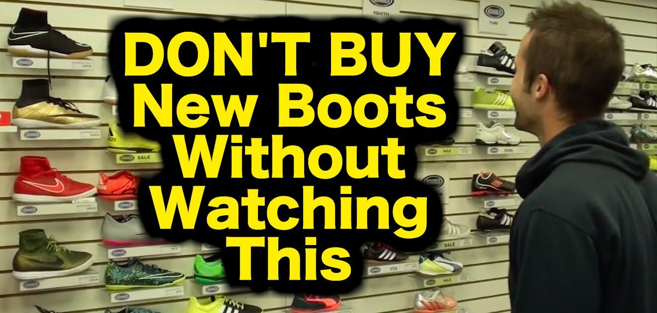 Do NOT buy new football   soccer boots without watching this video  https ebaf3f2f9c77