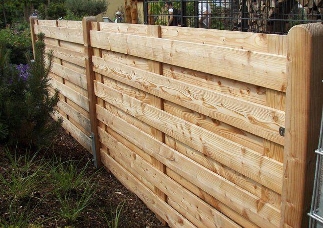 Blickdichte Zaunelemente.   Zaun   Pinterest   Haus Und Garten Sichtschutzzaun Holz Holzarten