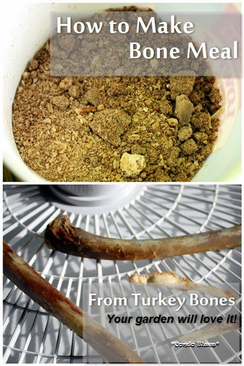 How To Make Bone Meal For The Garden From Turkey Bones