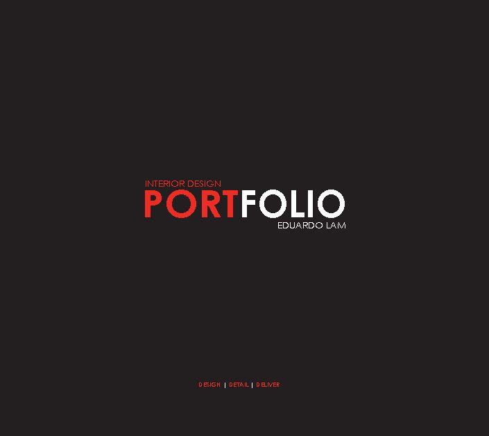 Interior Design Portfolio By Ed Architecture Blurb Books Cakepins