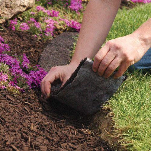 Mulch Edge Border Red 8ft X 4 5in Landscape Pinterest Rubber Edging