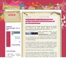 aeter.de zu verkaufen Blog und Pressemitteilungen Portal!  Hier Projekt ansehen: http://www.aeter.de/