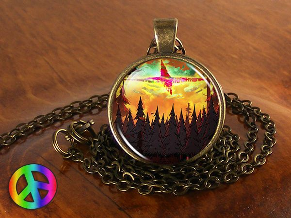Mens womens necklace pendant gravity falls bill cipher sky jewelry mens womens necklace pendant gravity falls bill cipher sky jewelry gift gifts mozeypictures Gallery