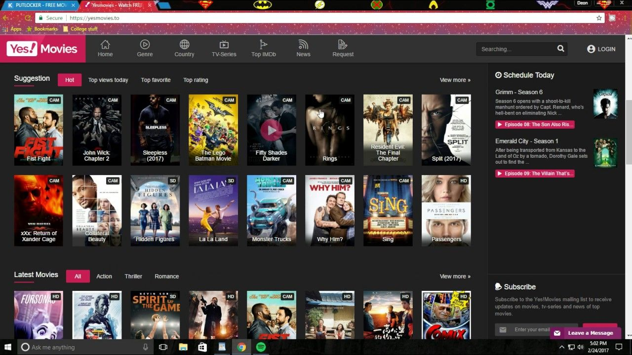 MORE *FREE* MOVIES WEBSITES (no login, no registration, no