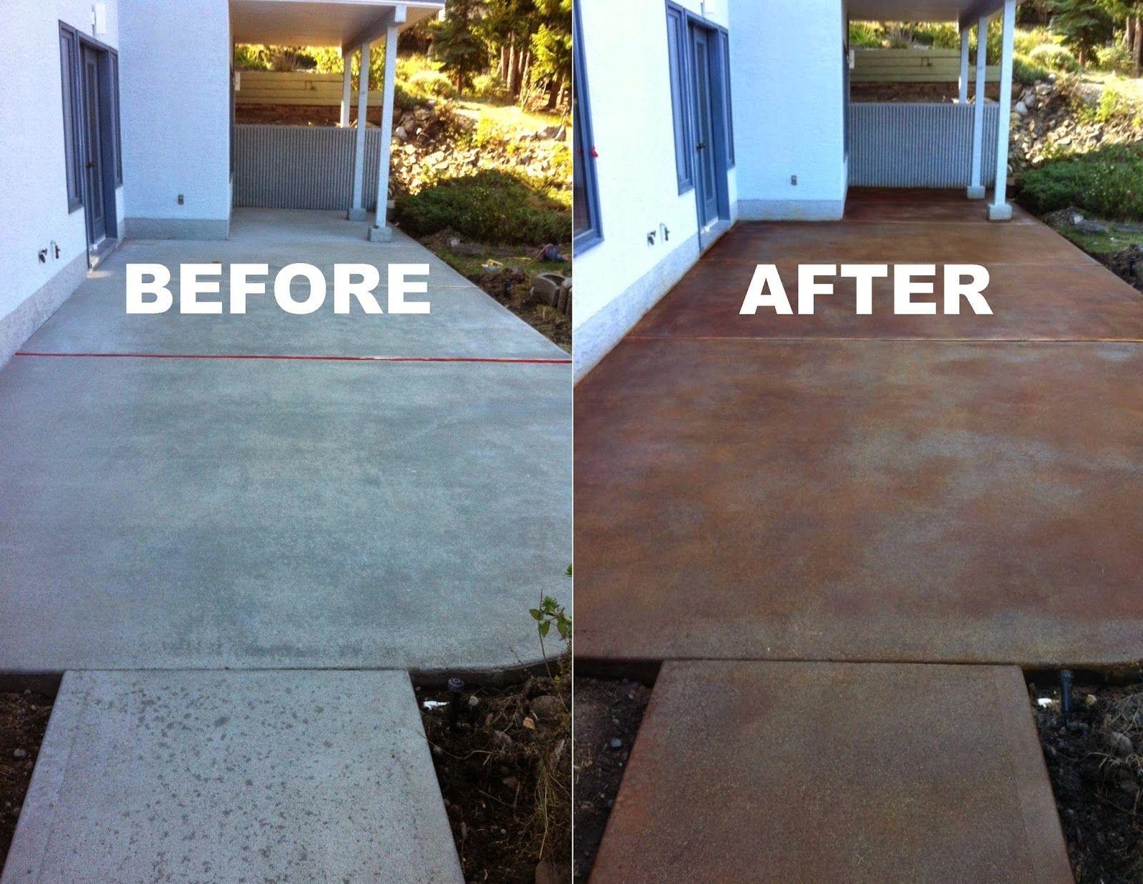 mode concrete concrete maintenance repair acid staining pool