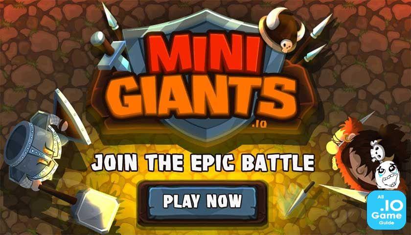 Play MiniGiants.IO Games for free Play free online, Free
