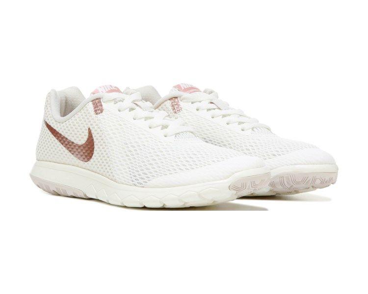 4cd35657e213 Nike Flex Experience RN 6 Running Shoe Sail Rose Gold