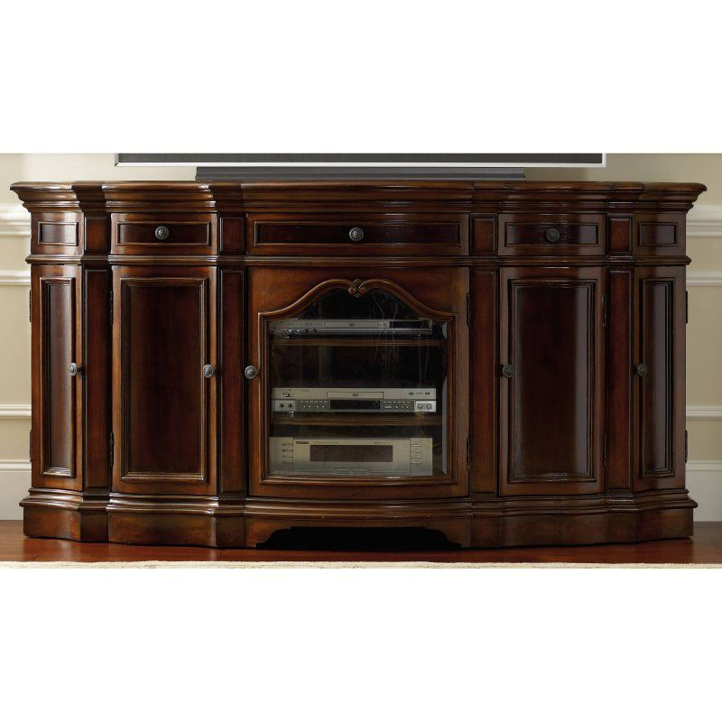 hooker furniture 74 in entertainment console 5139 55496