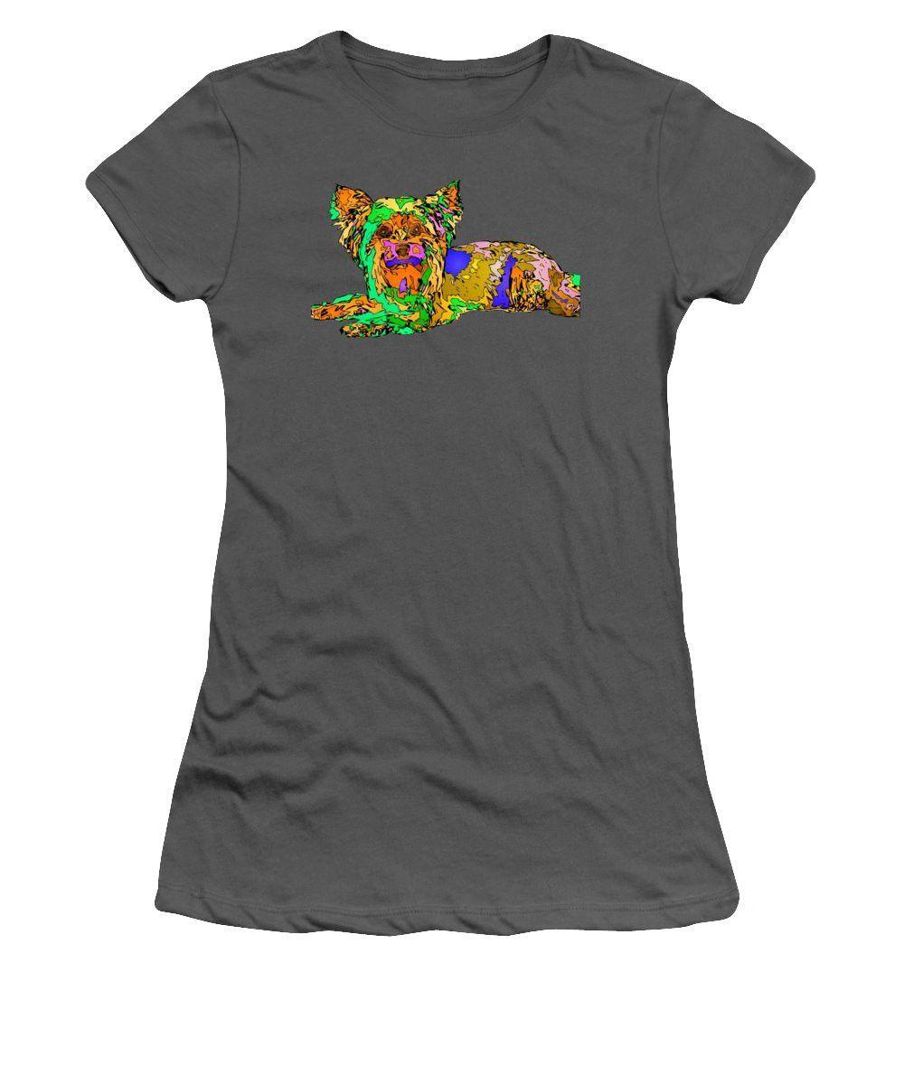 Women's T-Shirt (Junior Cut) - Buddy. Pet Series