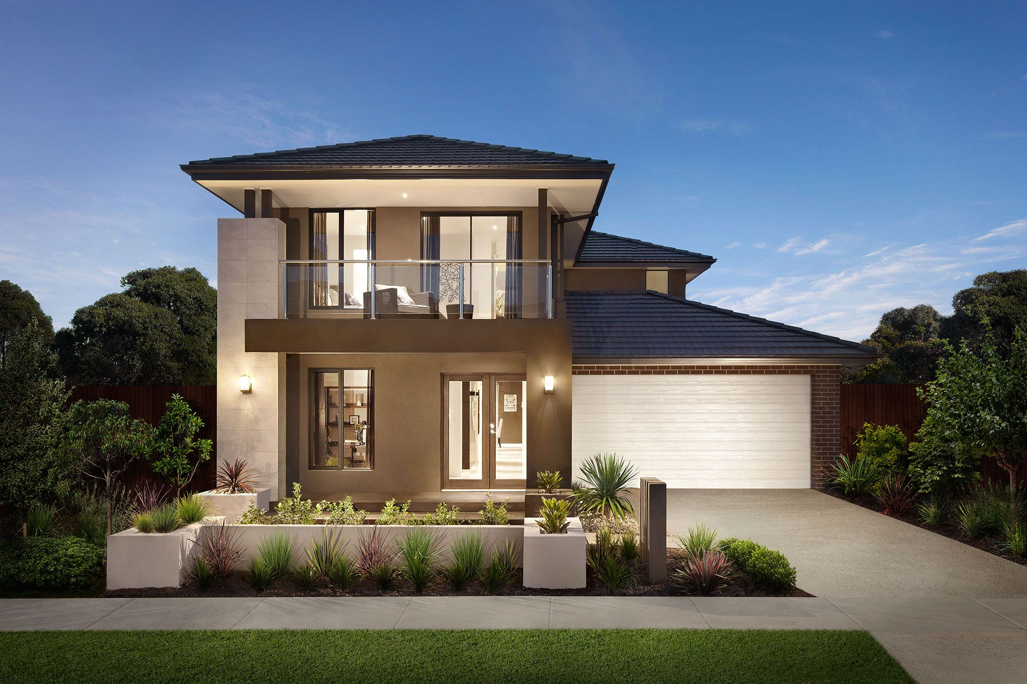 The Nevada with the Bentley Façade is a stunning new T-Range Home on ...