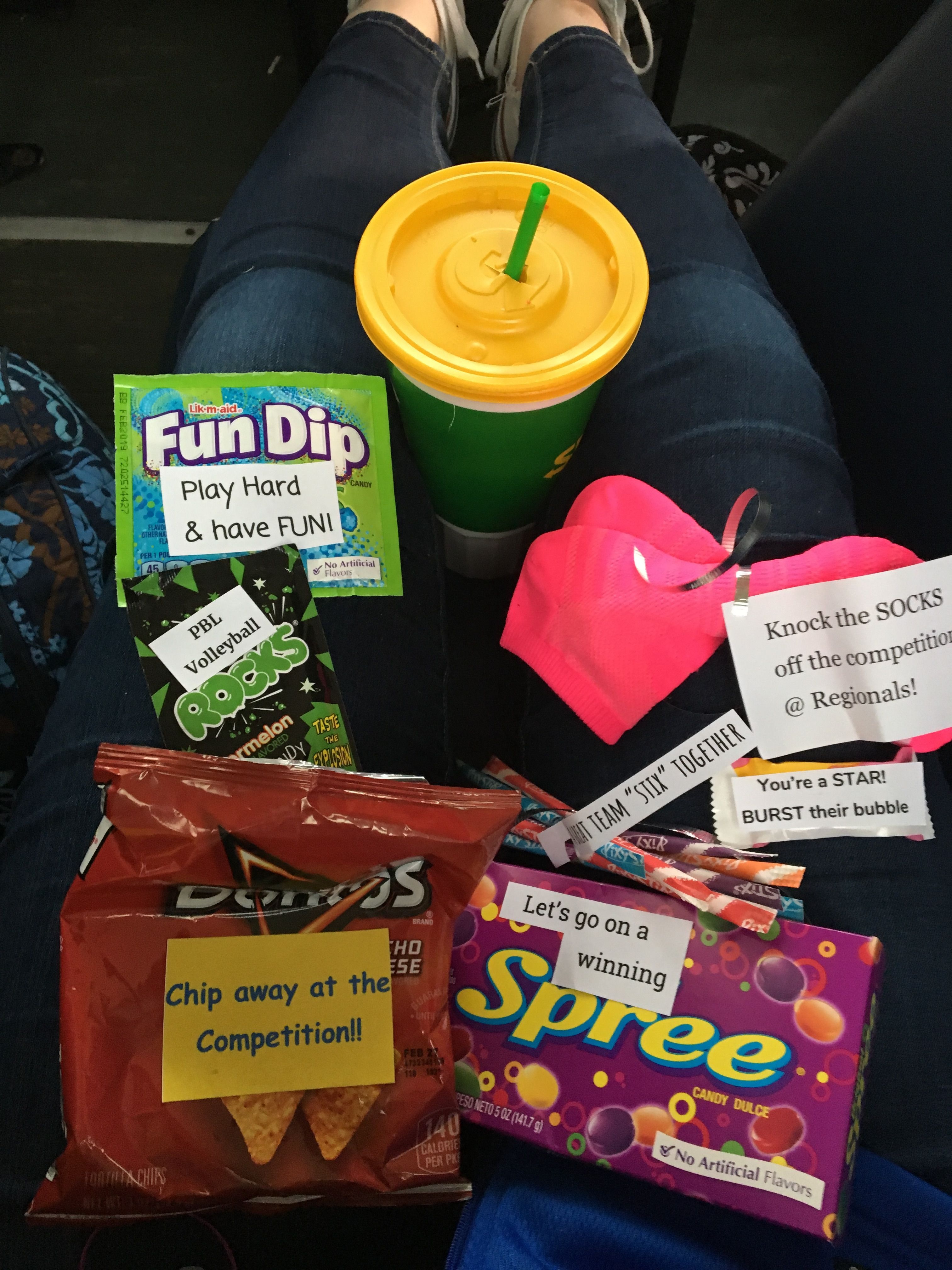 Treat Bag Ideas Volleyball Gifts